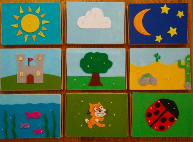 Interactive Scratch Tiles